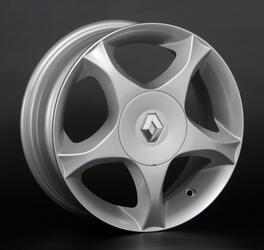 Автомобильный диск литой Replay RN5 6x15 4/112 ET 39 DIA 60,1 Sil