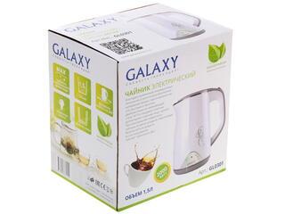 Электрочайник Galaxy GL 0301 белый
