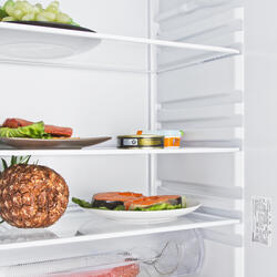 Холодильник с морозильником INDESIT BIA 18 T коричневый