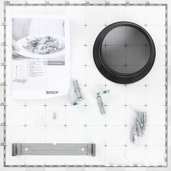 Вытяжка каминная Bosch DWW063461 черный