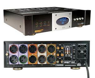 Сетевой фильтр Monster Cable HTS 5100 серебристый, черный