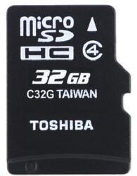 Карта памяти Toshiba TransFlash SD-C32GJ microSDHC 32 Гб