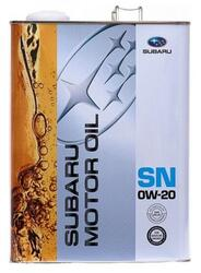 Моторное масло Subaru Motor Oil SN 0w20 K0215-Y0274