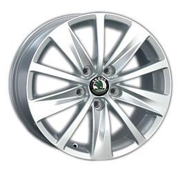 Автомобильный диск литой Replay SK45 7x16 5/112 ET 45 DIA 57,1 Sil