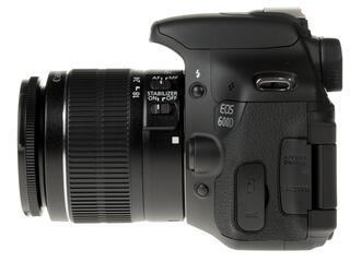 Зеркальная камера Canon EOS 600D Kit 18-55/55-250mm IS черный