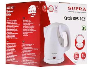 Электрочайник Supra KES-1021 белый