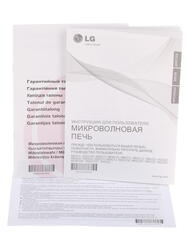 Микроволновая печь LG MS-2022U серебристый