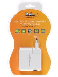 Сетевое + автомобильное зарядное устройство AIRLINE ACH-T-05
