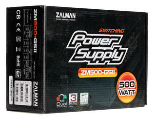 Блок питания Zalman GS2 500W [ZM-500GS2]