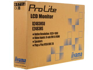 "24"" Монитор IIYAMA E2483HS-B1"