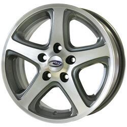 Автомобильный диск Литой Скад Гемма 6x15 5/100 ET 45 DIA 57,1 Селена-алмаз