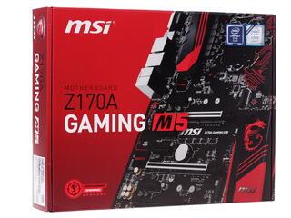 Материнская плата MSI Z170A GAMING M5