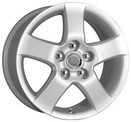 Автомобильный диск Литой K&K КС317 6,5x16 5/114,3 ET 50 DIA 60,1 Сильвер