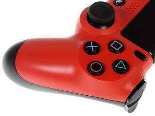 Геймпад DualShock 4 красный