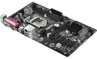 Плата Asrock H81 Pro BTC Socket-1150 Intel H81 DDR3 ATX AC`97 6ch(5.1) GbLAN SATA3 VGA+HDMI+COM+LPT