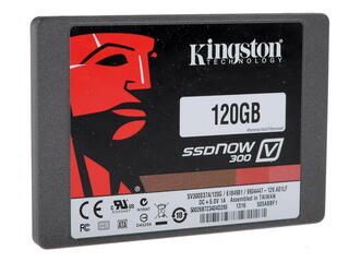 120 Гб SSD-накопитель Kingston V300 [SV300S37A/120G+ bracket]