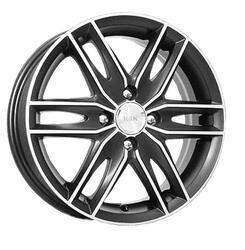 Автомобильный диск  K&K Монтеррей 6x16 5/114,3 ET 48 DIA 67,1 Алмаз блэк аурум