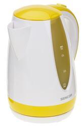 Электрочайник Sencor SWK 1816 YL белый, желтый