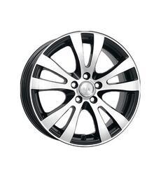 Автомобильный диск Литой K&K Омега 6,5x16 5/100 ET 55 DIA 56,1 Алмаз черный