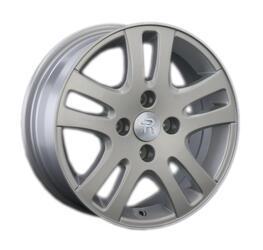 Автомобильный диск литой Replay PG2 6x15 4/108 ET 43 DIA 57,1 Sil