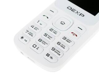Сотовый телефон DEXP Larus C2 белый