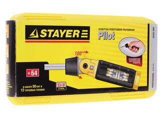 Отвертка реверсивная STAYER 25455-H64