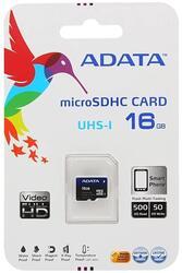 Карта памяти AData Premier microSDHC 16 Гб