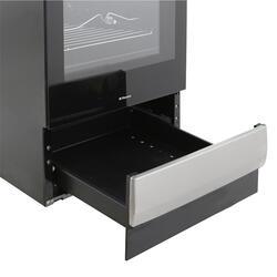 Электрическая плита Hansa FCEX 54110 серебристый, черный