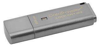Память USB Flash Kingston DataTraveler Locker+ G3 DTLPG3 16 Гб