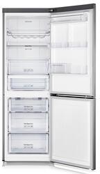 Холодильник с морозильником Samsung RB29FERNCSA серебристый
