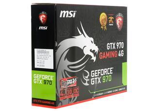 Видеокарта MSI GeForce GTX 970 Gaming [GTX 970 GAMING 4G]