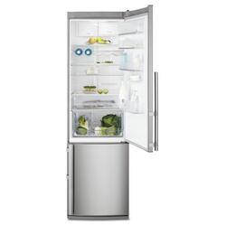 Холодильник с морозильником Electrolux EN3613AOX серебристый