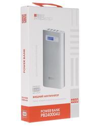 Портативный аккумулятор InterStep 24000 серый