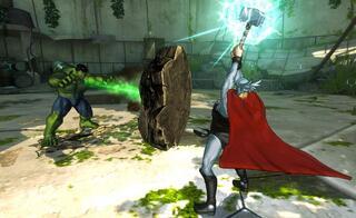Игра для Wii U Marvel Avengers: Battle for Earth