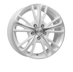 Автомобильный диск Литой K&K Мулен Руж 6,5x15 5/100 ET 38 DIA 67,1 Алмаз вайт