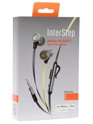 Гарнитура проводная InterStep BW Metal черный
