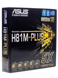 Материнская плата ASUS H81M-Plus