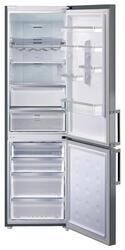Холодильник с морозильником Samsung RL63GCGMG серый