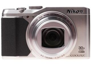 Компактная камера Nikon Coolpix S9900 серебристый