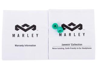 Наушники Marley Smile Jamaica EM-JE040-RA