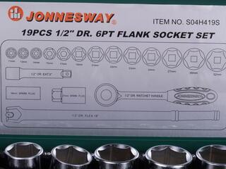 Набор торцевых головок Jonnesway S04H419S