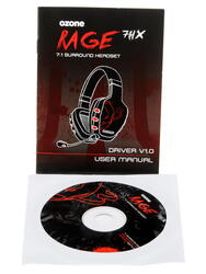 Наушники Ozone Gaming Rage 7HX