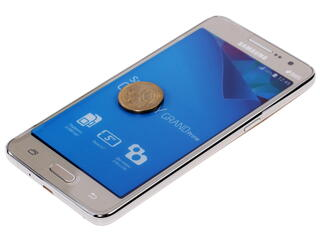 "5"" Смартфон Samsung SM-G531 Galaxy Grand Prime VE Duos 8 ГБ золотистый"