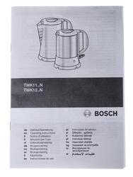 Электрочайник Bosch TWK 1201N белый