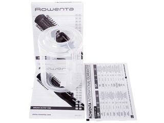 Фен-щетка Rowenta CF 9032 черный