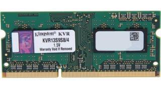 Память SODIMM DDR3 4096MB PC10600 1333MHz Kingston