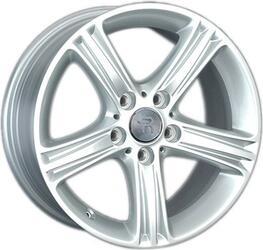 Автомобильный диск литой Replay B140 7,5x17 5/120 ET 37 DIA 72,6 Sil