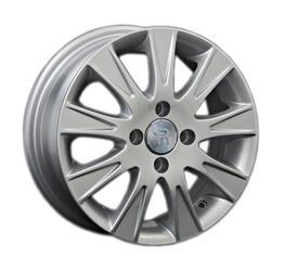 Автомобильный диск литой Replay GL3 6x15 4/100 ET 39 DIA 54,1 Sil