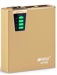 Портативный аккумулятор Hiper Power Bank 7500 mAh Gold Edition золотистый