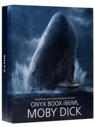8'' Электронная книга ONYX Boox i86ML Moby Dick черный + чехол